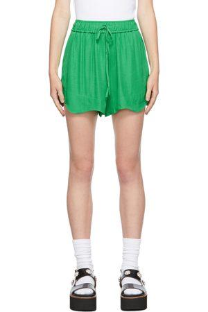 GANNI Ripstop Drawstring Shorts