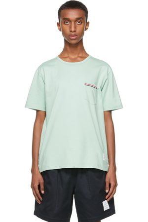 Thom Browne Jersey Striped Chest Pocket T-Shirt