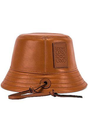 Loewe Strap Bucket Hat in Tan