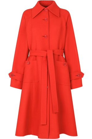 Dolce & Gabbana Women Trench Coats - Belted A-line trench coat