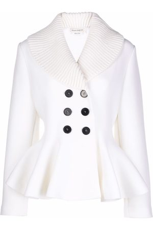 Alexander McQueen Fitted double-breasted jacket