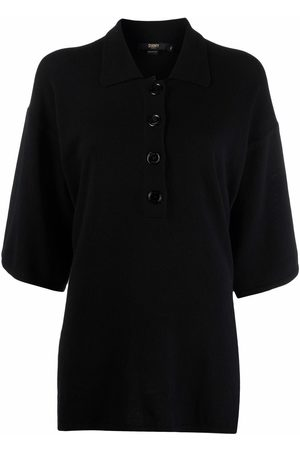 SEVENTY BY SERGIO TEGON Oversized knitted polo top