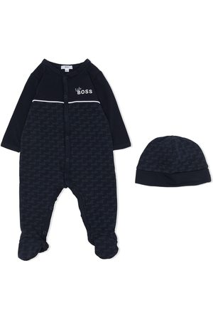 HUGO BOSS Monogram-print pajama set