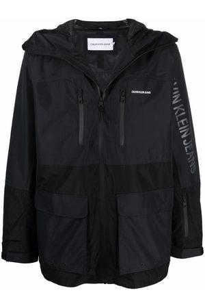 Calvin Klein Logo-print hooded jacket
