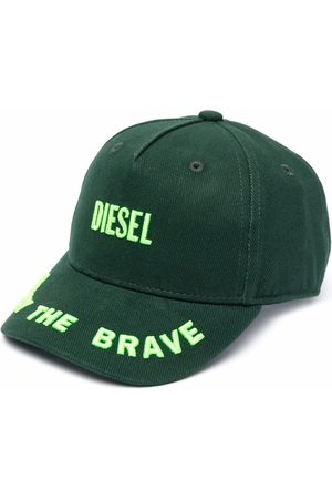 Diesel Embroidered-logo twill cap