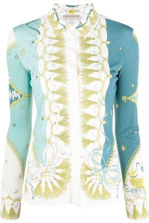 Emilio Pucci Holiday-print shirt