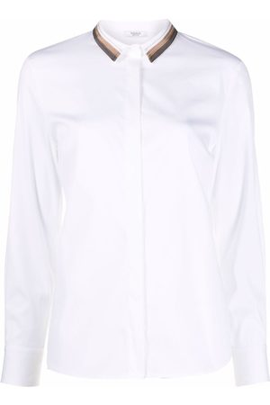 PESERICO SIGN Button-down fitted shirt
