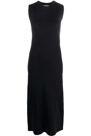 Jil Sander Women Sleeveless Dresses - Round-neck sleeveless dress