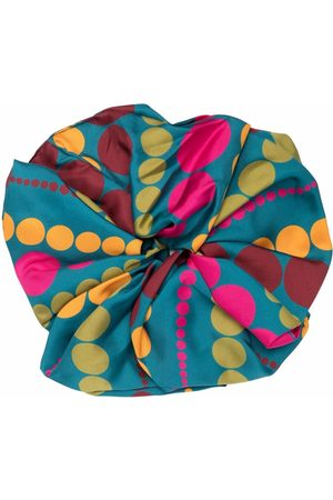 La DoubleJ Giga abstract-print scrunchie
