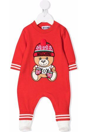 Moschino Kids Teddy Bear-print pajamas