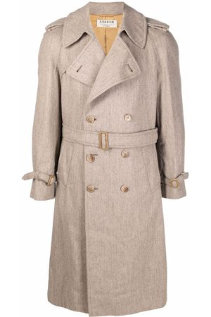 A.N.G.E.L.O. Vintage Cult 1990s double-breasted belted trench coat