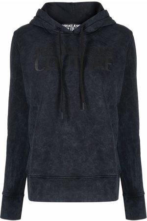 VERSACE Logo-print hoodie