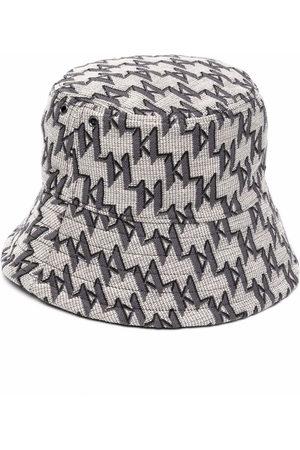 Karl Lagerfeld Women Hats - K/Monogram jacquard bucket hat