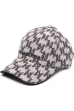 Karl Lagerfeld K/Monogram jacquard logo cap