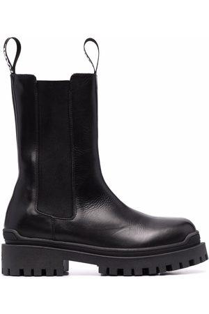Karl Lagerfeld Biker Long Gore leather boots