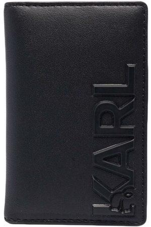 Karl Lagerfeld K/Karl embossed leather card holder