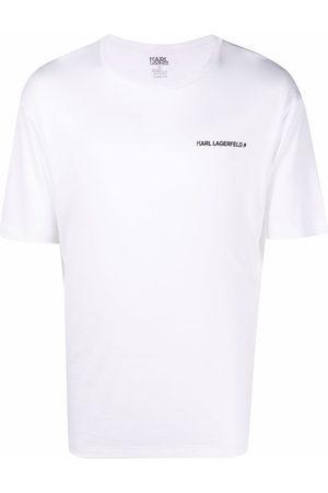 Karl Lagerfeld Short Sleeve - Logo-print T-shirt