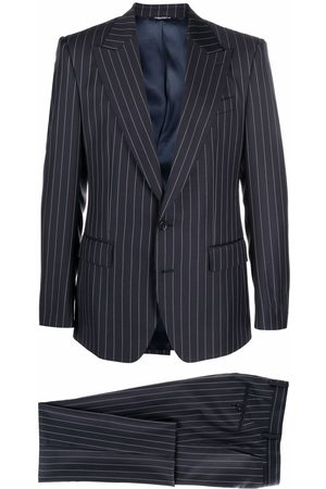 Dolce & Gabbana Single-breasted pinstripe suit