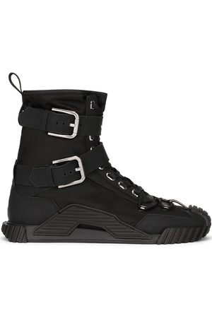 Dolce & Gabbana Buckle-detail high-top sneakers