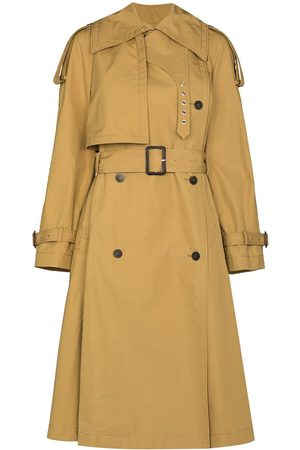 Loewe Women Trench Coats - Double-breasted trench coat