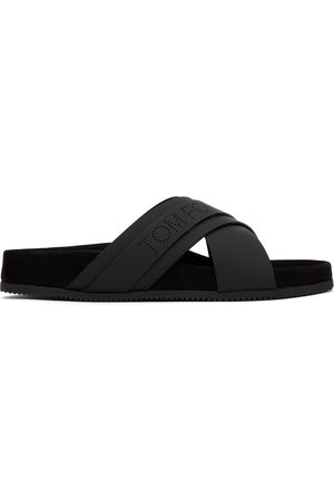 Men Sandals - TOM FORD Leather Wicklow Sandals