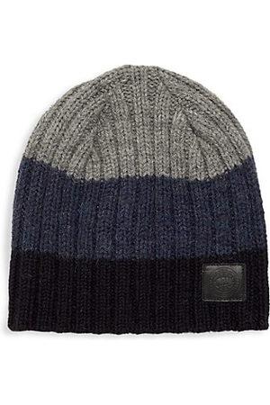 Canada Goose Men Hats - Robert Mackie Block Rib Slouch Wool Hat
