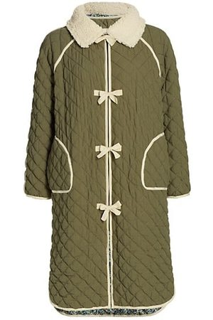 The Great Reversible Quilted Long Jacket