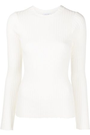 ANINE BING Cecilia long-sleeve ribbed-knit top
