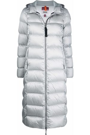 Parajumpers Women Parkas - Hooded zip-up padded coat