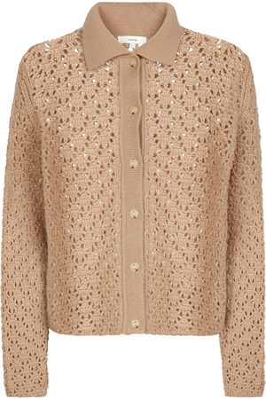 Vince Crochet wool and cashmere cardigan