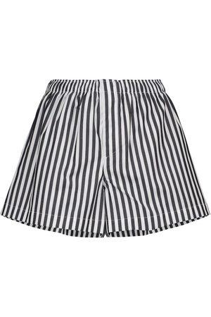 WARDROBE.NYC Release 07 striped cotton poplin shorts