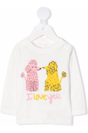 Stella McCartney Love Poodles long-sleeve T-shirt