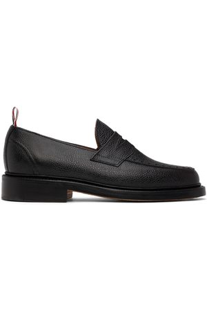 Thom Browne Pebble Grained Penny Loafers