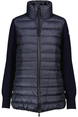 Moncler Long cardigan down jacket