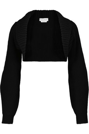 Alexander McQueen Wool and cashmere shrug