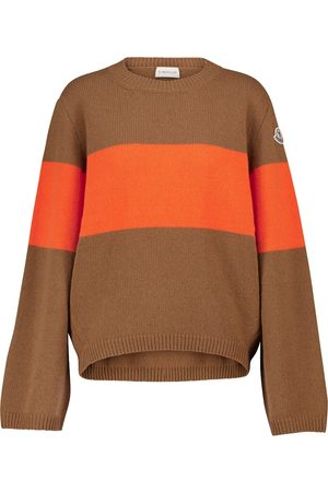 Moncler Colorblocked wool sweater