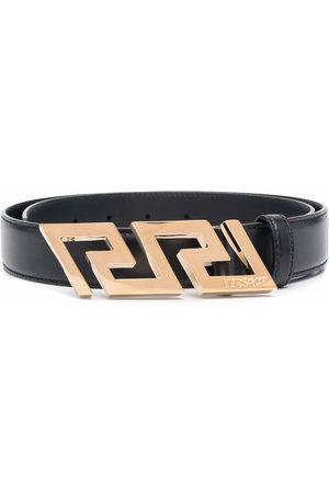 VERSACE Greca Key engraved buckle belt