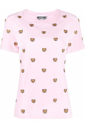 Moschino Embroidered Toy Bear T-shirt