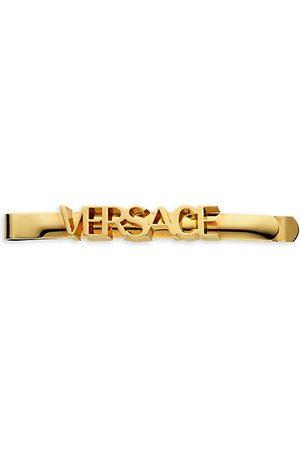 VERSACE Hair Accessories - Goldtone Logo Hair Pin
