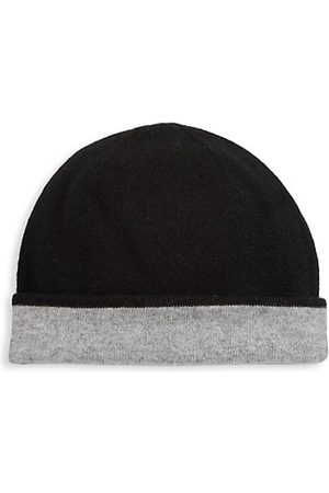 Saks Fifth Avenue COLLECTION Reversible Cashmere Beanie