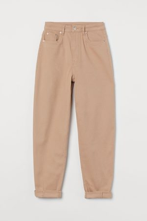 H&M Mom Loose-fit Twill trousers