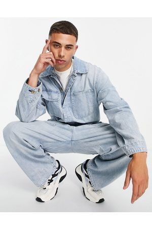 Levi's Levi's stay loose overall jeans in bleach wash
