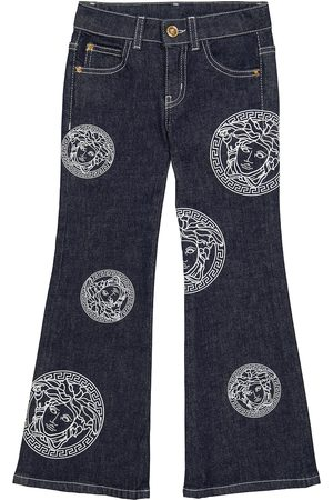 VERSACE Medusa Amplified flared jeans