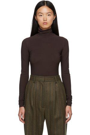 Women Long Sleeve - MM6 Maison Margiela Turtleneck Long Sleeve Bodysuit