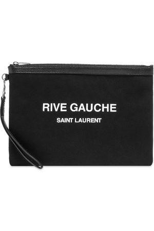 Saint Laurent Men Wallets - YSL Rive Gauche Pouch