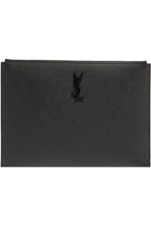 Saint Laurent Men Laptop Bags - YSL Monogram i-Pad Holder