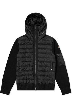 Moncler Men Winter Jackets - Hooded Down Knit Jacket