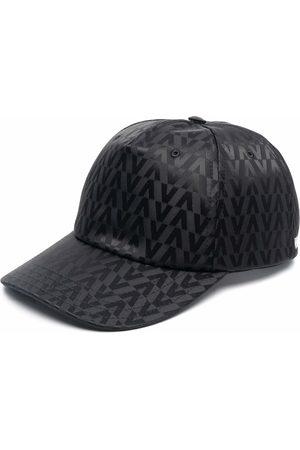 VALENTINO Men Hats - V pattern baseball cap
