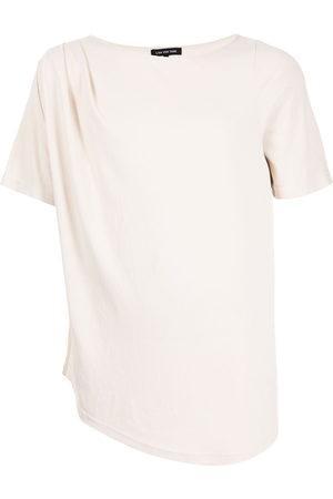 Lisa von Tang Asymmetric short-sleeve T-shirt