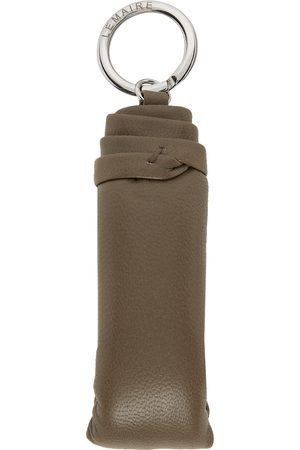 Men Keychains - Lemaire Grey Wadded Keychain